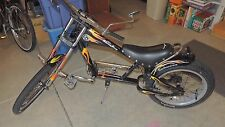 Schwinn Stingray Bike OCC Chopper Black/Yellow 20""