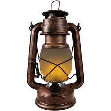 LED tempesta LANTERNA Decorativa Effetto Fiamme Fuoco Torcia Lanterna Batteria D...