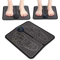 EMS Foot Massager Mat Physiotherapy Muscle Stimulator Vibrator Massager