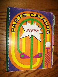 STERN Pinball and Arcade Machine Parts Manual