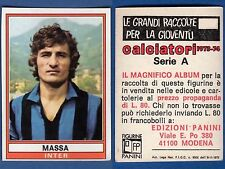 FIGURINA CALCIATORI PANINI 1973/74 - NUOVA/NEW N.151 MASSA - INTER