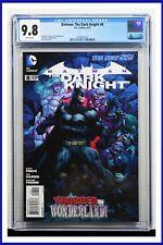 Batman The Dark Knight #8 CGC Graded 9.8 DC June 2012 White Pages Comic Book