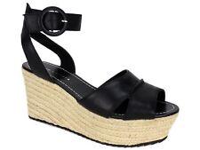 Alice + Olivia Women's Roberta Espadrille Wedge Sandals EU 38 US Size 8 M