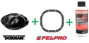 Kit Dorman Rear Differential Cover Gasket Friction Modifier Ford 8.8 Ranger F150