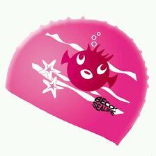 Silikon Badekappe Kinder Beco 73942 BECO-SEALIFE Schwimmhaube Badekappen Pink
