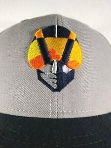 Las Vegas Aviators Minor League Logo Hat Cap Flat Brim Snap Gray/Black  New Era