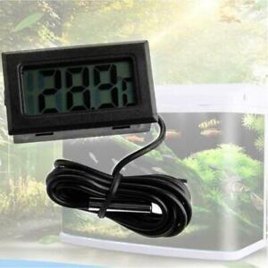 New Digital LCD Fish Tank Aquarium Marine Water Thermometer Temperature M4Q2
