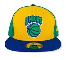 New listing New York Knicks Hardwood Classics New Era 59Fifty Mens Green/Blue Hat 7 5/8