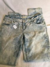 Forever 21 Skinny Distressed Jeans LIght Wash Size 29 Used