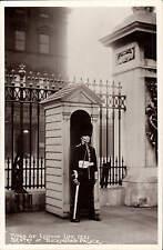 Types of London Life. Sentry at Buckingham Palace # 22 by Gordon Smith.