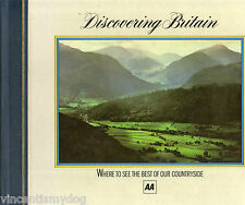 Discovering Britain published by The AA (hardback) where to see the best of UK