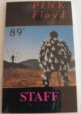 PINK FLOYD Laminated STAFF Backstage Tour Pass - 1989