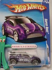 2010 i Hot Wheels Nightburnerz Super Gnat #97 ∞ Viola ∞ 1:64 Auto