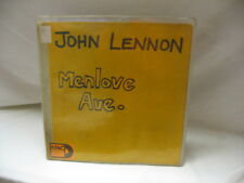 John Lennon Menlove Ave Yellow Record Cover Only