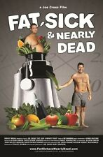 Fat Sick and Nearly Dead DVD - Joe Cross, Reboot, Diet, Weightloss, Juicing