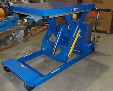 "Electric Scissor Lift Table 2000 lb Capacity PST-3648-2-46 46"" Lift"