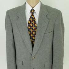 42 R (43) Kuppenheimer Gray Camel Hair Tweed 2 Btn Mens Jacket Sport Coat Blazer