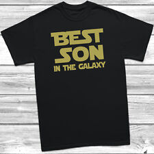 Best Son In The Galaxy Funny Mens T-Shirt Tee Gift Xmas Present Birthday