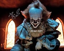 Bill Skarsgard It movie Reprint SIGNED 11x14 Poster #2 RP Pennywise Stephen King