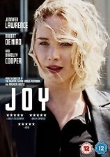 JOY JENNIFER LAWRENCE ROBERT DE NIRO BRADLEY COOPER FOX UK 2016 REGION 2 DVD NEW