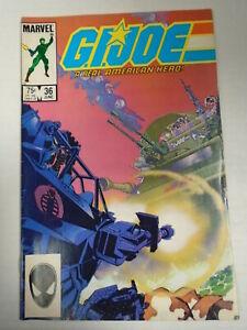 Marvel Comics G.I. JOE #36 (1985) Larry Hama Story, Michael Golden Cover