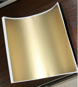 10 sheets Big Size Scratch Off Sticker 200*235mm Gold For Home Game Wedding