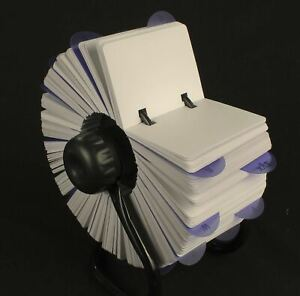 Huge Rotary card filing system 1,000 cards 105 x 74mm Rolodex rotating Rotamate