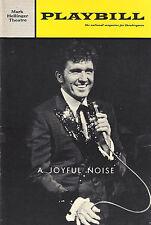 """John Raitt """"A JOYFUL NOISE"""" Michael Bennett 1966 Broadway FLOP Premiere Playbill"""