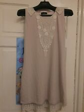 Gorgeous Topshop Yumi Dress Vintage Style Small 10 Lace