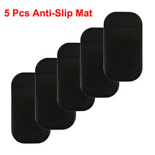 2020 Anti-Slip Dashboard Sticky Pad Non-slip Mat GPS Phone Hold 5 Pcs Black