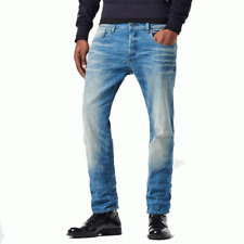 G-Star 3301 Straight L34 Jeans 28-34-light Aged
