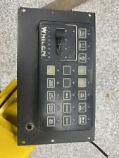 Whelen Cencom Control Head FACEPLATE ONLY FACE PLATE