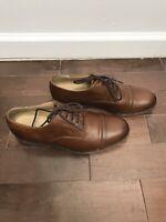 Frye Harvey 84466 Cap Toe Oxfords Brown Leather Lace-up Men's Size 8 D