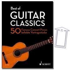 Best of Guitar Classics-guitarras notas-Schott-ed22060 - 9783795749729