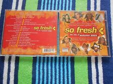 SO FRESH - THE HITS OF AUTUMN 2003 - DELTA GOODREM EMINEM,PINK,KYLIE MINOGUE