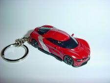 NEW 3D DK RED RENAULT ALPINE DEZIR CUSTOM KEYCHAIN keyring key gt BACKPACK BLING