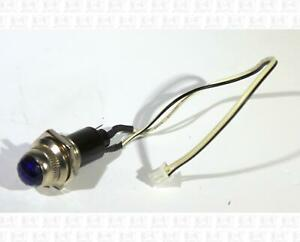 Blue Guitar Amp Power Indicator Pilot Lamp Light Fits 11/16 Inch Hole 6.3 Volts