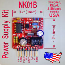 HV Power Supply - 12V In, 45 to 190V Out - 5.5W Nixie, Old Radio - US Seller