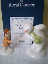 Royal Doulton China Figure: il pupazzo di neve: il Pupazzo di Neve e James: Inghilterra