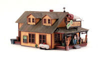 New Woodland HO Scale Built-&-Ready Structure Mo Skeeters Bait/Tackle BR5047