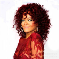 Afro Curly Wigs For Black Women Kinky Curly Hair Wig Perruque Halloween Gift