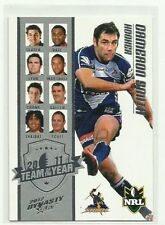 Single - Insert Melbourne Storm Original NRL & Rugby League Trading Cards