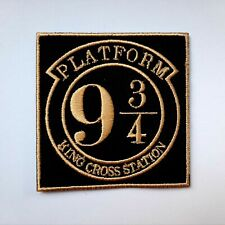 Harry Potter 9 ¾ Platform Iron On Patch Sew On Embroidered Patch