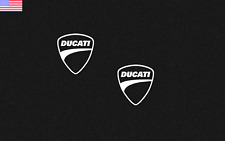 "6X Ducati Vinyl Sticker Decal 1"" Logo Racing (Choose Color)"
