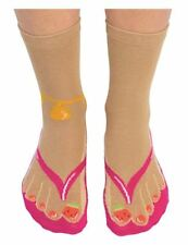 83df3b23b6a Cockney Spaniel Ladies Novelty Flip Flop Socks- Womens Gift Idea - Funny  Present