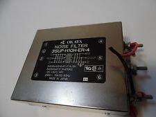 Okaya EMI Filter, 10A 250V 50/60Hz, 3SUP-H10H-ER-4