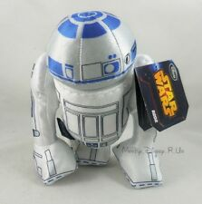 New Disney Store Exclusive Star Wars R2-D2 Robot Artoo Bean Bag Plush Doll 8""