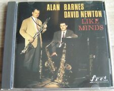 ALAN BARNES DAVID NEWTON Like Minds CD