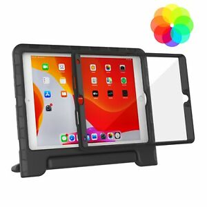 """For Apple iPad 8th & 7th Gen 10.2"""" 2020/2019 Kids Case Built-in Screen Protector"""