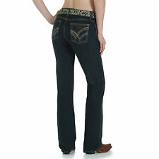 Wrangler Q-Baby Cowgirl Cut WRQ20GN Riding Stretch Jeans - Size 3/4 =Aus 8